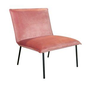 moderne fauteuil roze